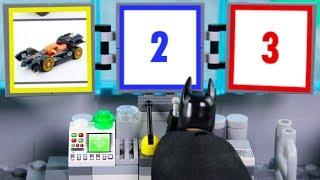 LEGO Batman Experimental Batmobile, Construction Drill STOP MOTION LEGO Cars & Trucks   Billy Bricks