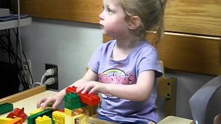 3 year old hearing for the first time with a Cochlear Implant