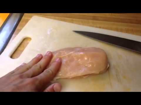 Easy trick to for moist and tender chicken breast