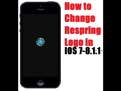 How To Change Respring Logo On IOS 7-8.4