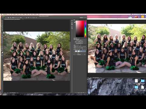 Photoshop CC - How to copy and paste objects into another photo.