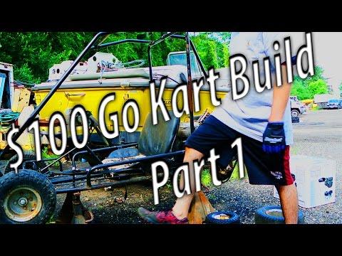 Cheap $100 Go Kart Build - Predator 212cc engine