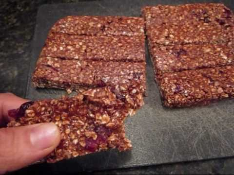 Healthiest Homemade Protein Bar Yet