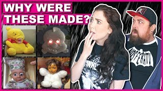 Toys That Were TOO SCARY To Be Sold In Stores