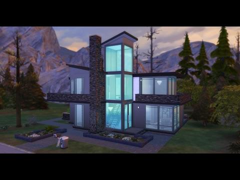 The Sims 4 Speed Build - Modern Vampire Pad