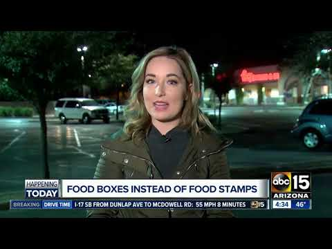 Food boxes instead of food stamps? Food banks worried about program cuts