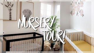 Our Nursery Reveal & Tour || Neutral Theme For Boy & Girl