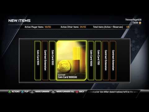 Madden 25 Ultimate Team - 100K Jumbo Coin Pack! - MUT 25