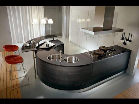 Wonderful Space Saving Small Kitchen Design Layouts