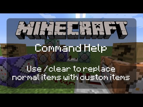 Command Help: Using /clear to Force NBT Data on a Crafted Minecraft Item [Mapmaking][Adventure Mode]