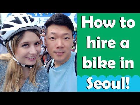 HOW TO HIRE A BIKE IN SEOUL