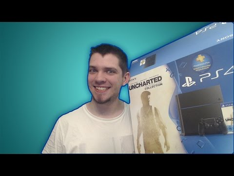 NATHAN DRAKE COLLECTION UNBOXING PS4 BUNDLE + PS4 UPDATES