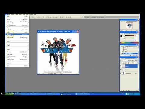 How To Edit Pictures on Photoshop CS2