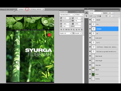 PHOTOSHOP TUTORIAL: MAGAZINE COVER MOCK-UP [PART 4]