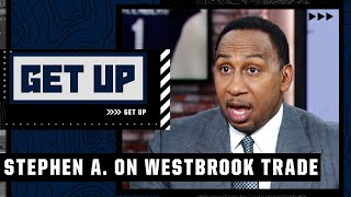 Stephen A. reacts to Russell Westbrook joining LeBron and the Lakers | Get Up