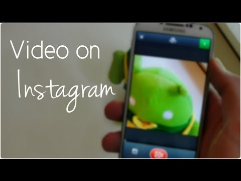 Video on Instagram - Features, Settings and Functions (Vine is dead)
