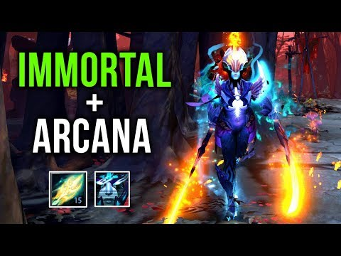 MOST INSANE PA SET - EPIC Phantom Assassin Combine Immortal + Arcana by Kiak 29-1 Gameplay Dota 2