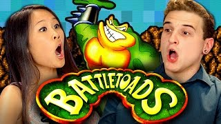 BATTLETOADS (Nintendo) (REACT: Retro Gaming)