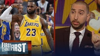 Nick and Cris list expectations for LeBron