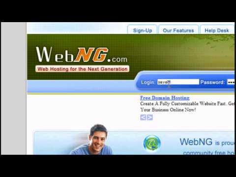 HTML Tutorial 6 - Putting Your Website Online - Website Design Tutorial