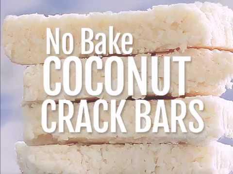 Coconut Crack Bars - No Bake Recipe!