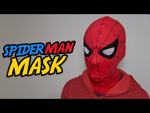 SPIDER MAN HOMECOMING MASK - [TUTORIAL]