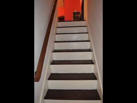 Stair Remodel   Strip n Stain
