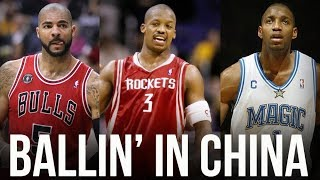 7 Former NBA Stars Who Played in China