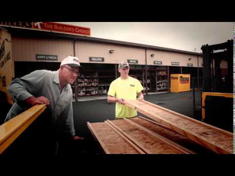 Boise Engineered Wood Products at Meek's