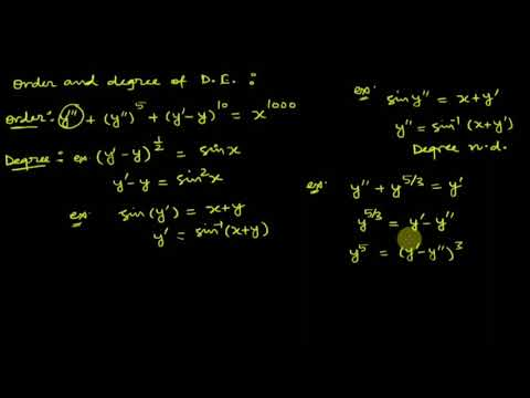 DIFFERENTIAL EQUATION: LECTURE 1, Formation of d.e. by Shobhit Sir.