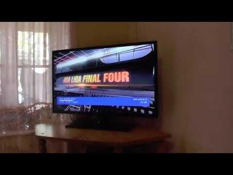 Samsung UE32F5000 Full HD LED TV unboxing and initial setup