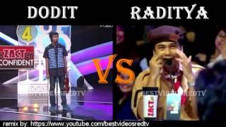 Dodit Mulyanto vs Raditya Dika (Suci 4; Dodit Show 8 vs  Radit Show 7)