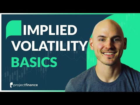 Implied Volatility Explained   Options Trading Concept