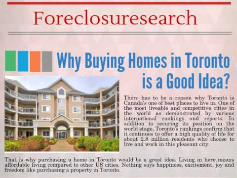 Ontario Foreclosures Listings