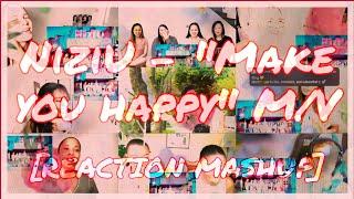 NiziU 『Make you happy』 M/V – REACTION MASHUP