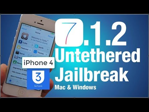 Jailbreak iPhone 4 Install Cydia Running On iOS 7.1.2, 7.1.1, and iOS 7.1 Using 3uTools | New Update
