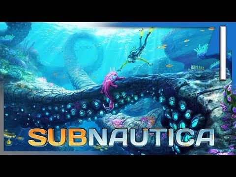 SUBNAUTICA: FIRST DAY - KNIFE, SCANNER, O2 & EXPLORING! :| Subnautica Survival (Full Release) E1
