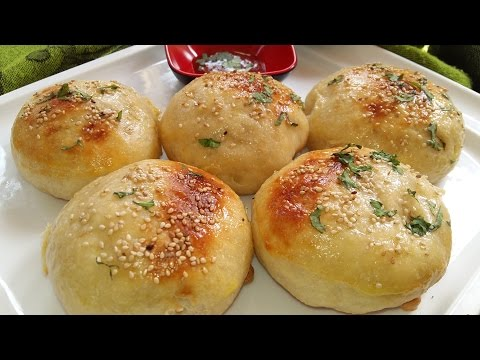 How To Make Chicken Bun In Gas Stove // Bun // Chicken Bun // NO oven Bread Recipe