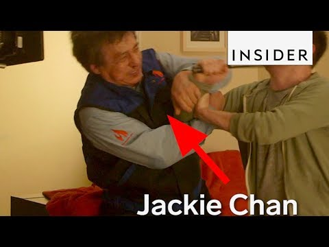 How Jackie Chan Still Does His Own Stunts