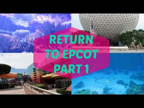 Return To Epcot - Nemo & Friends, Dolphins swimming & Pixar Short Film Festival