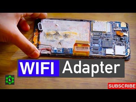 DIY Wifi Adapter from an Old Tablet |REALTEK RTL8188ETV|