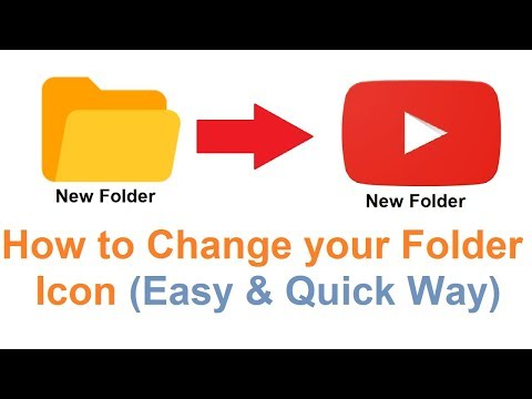How to Change Icon of a Folder || Select Customize Icon by Yourself