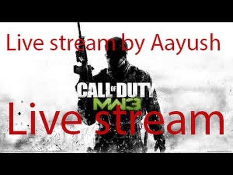 Call of Duty mw3  multi player online live stream ..pc game play