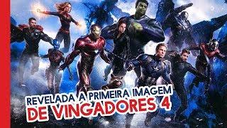 REVELADA A PRIMEIRA IMAGEM DE VINGADORES 4