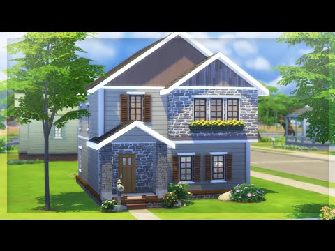 The Sims 4 | Challenge —Big House on A Budget ( Family Starter )