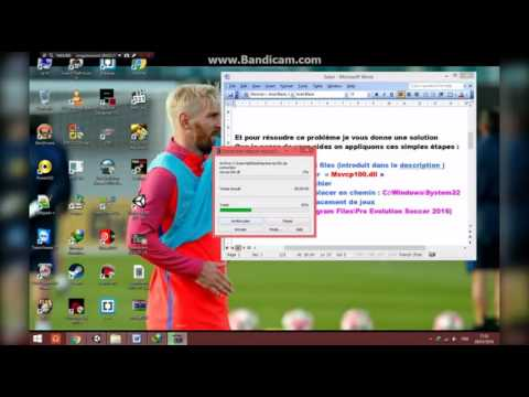 FIX ERROR MSVCP100.DLL (Exactly for PES 2016.exe )
