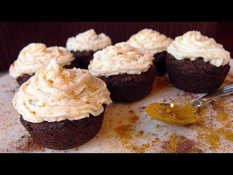 Keto Recipe - Chocolate Curry Cupcakes
