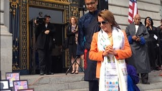 "Nancy Pelosi ""China is to blame"" for self immolations, March 10 Tibet National Uprising Day i"