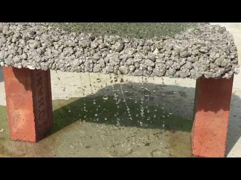 Permeable Concrete - Lean Detention