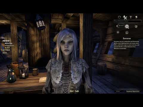 ESO For The SWTOR Player: Character Creation
